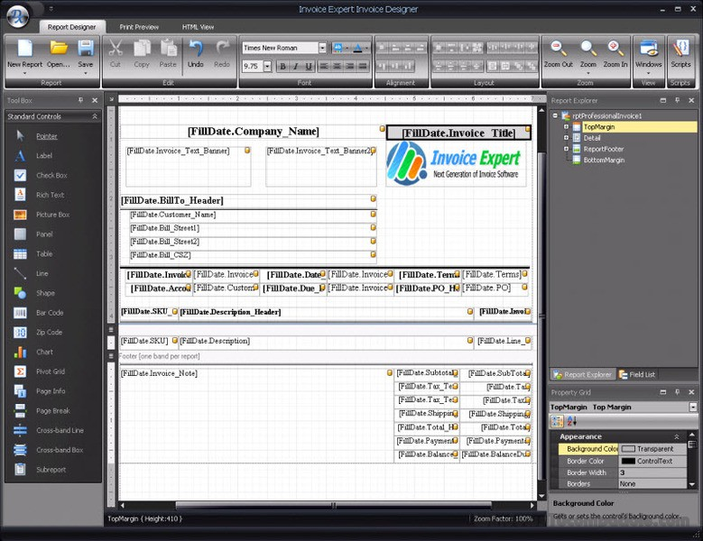 Invoice Expert Free Download - Invoice package